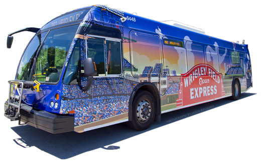 Image of Wrigley Field Express Bus