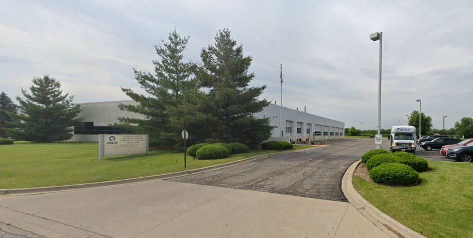 Image of Pace's McHenry Division Building