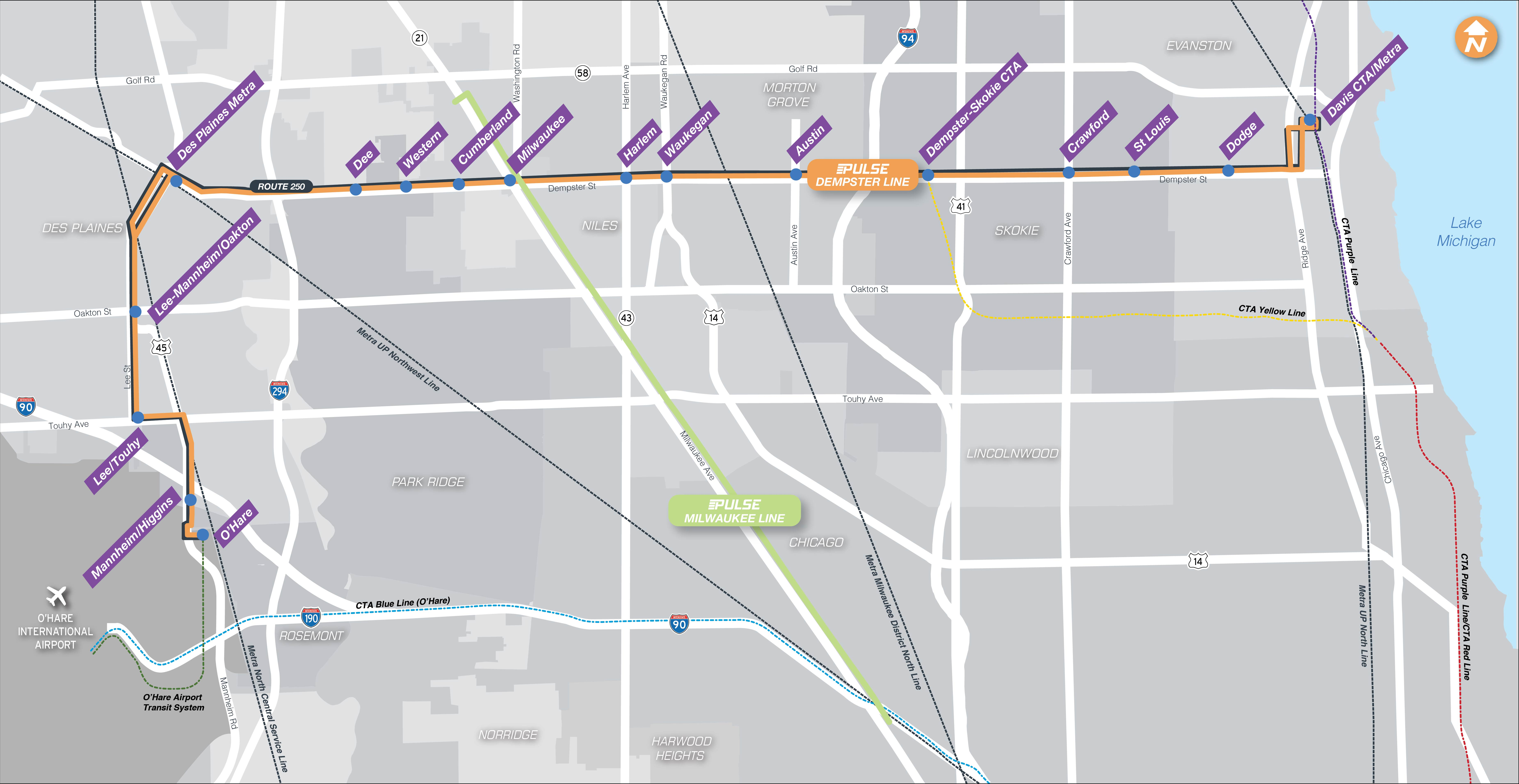 Image of the Pulse Dempster Line Corridor Map